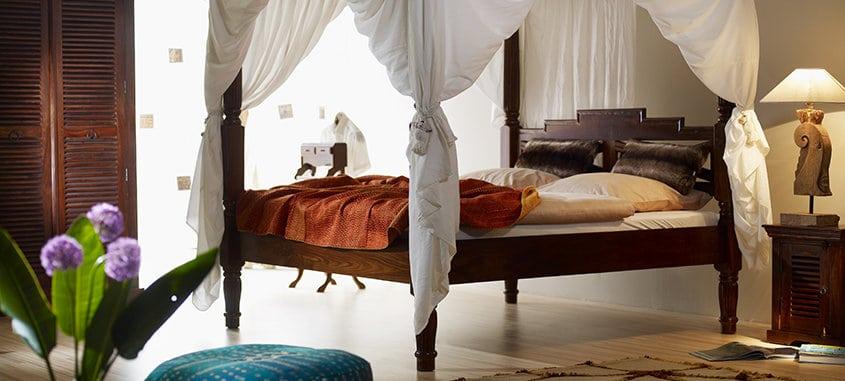 Schlafzimmer - Indien-Haus