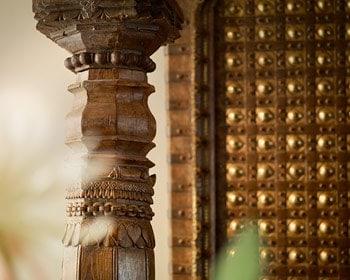 Indien-Haus Gebäudeteile