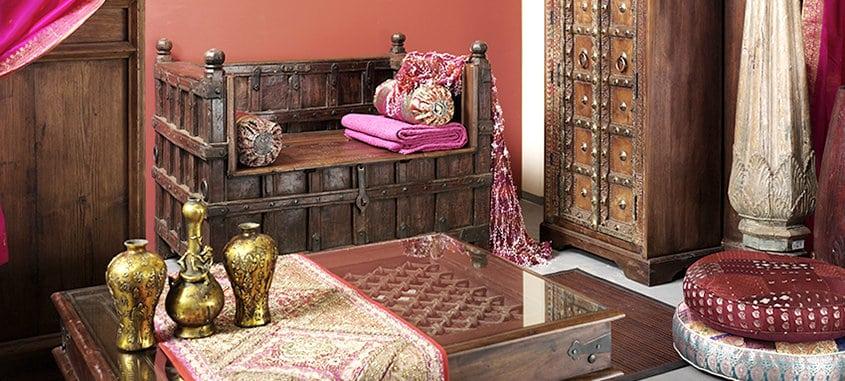 unikate indien haus. Black Bedroom Furniture Sets. Home Design Ideas