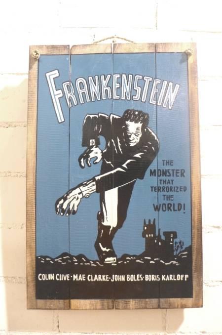 """Bild / Werbeschild """"Frankenstein"""""""
