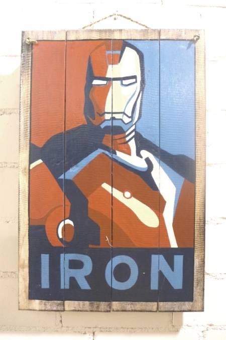 "Bild / Werbeschild ""Ironman"""