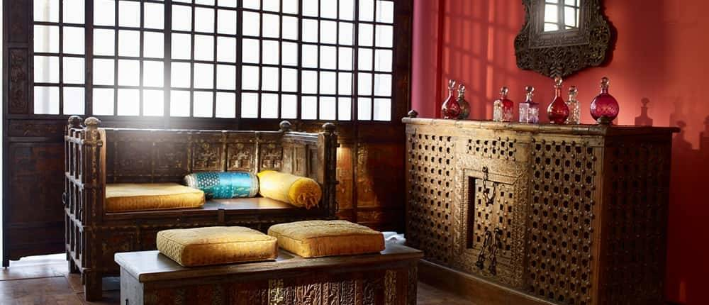Wohnzimmer Indien Haus