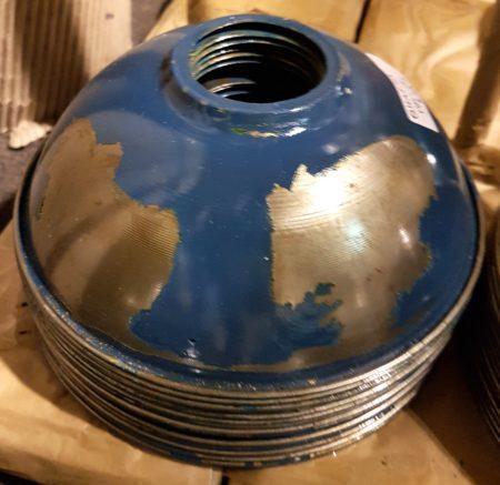 Retro Lampenschirm dunkelblau